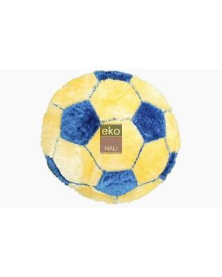 Futbol Topu Sarı-Mavi