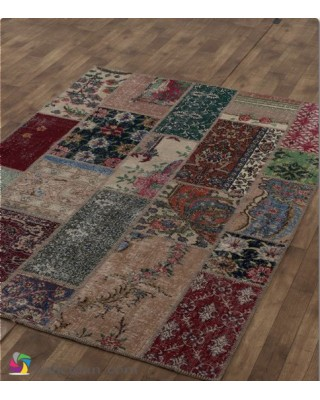 Antik Patchwork Multi Naturel